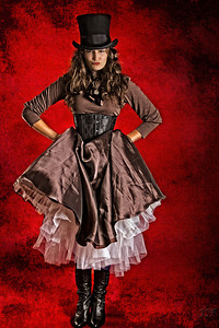 Natalie Second Steampunk