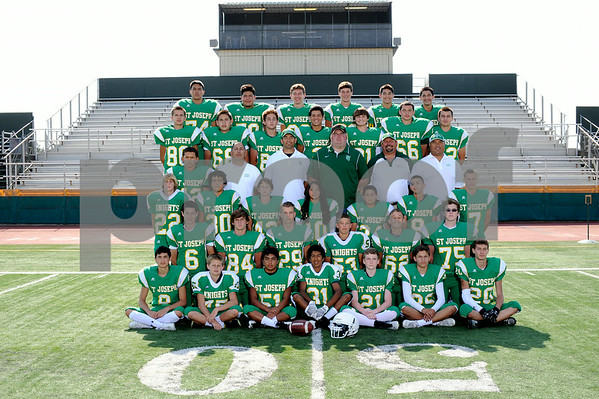 St. Joseph High School JV Football 2014