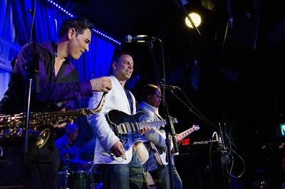 The Groove Messengers at the Blue Note, 5/20/2013