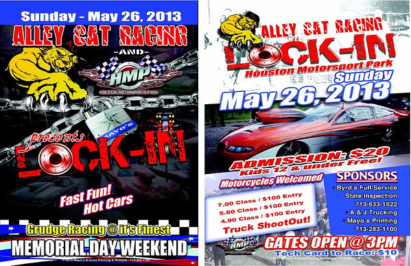 5-26-13 ALLEY CAT RACING LOCK-IN MEMORIAL DAY GRUDGE