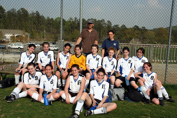 YA Lady Lions Soccer 2007
