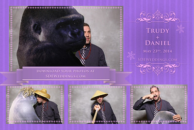 Daniel + Trudy Photobooth (May 25th, 2014)