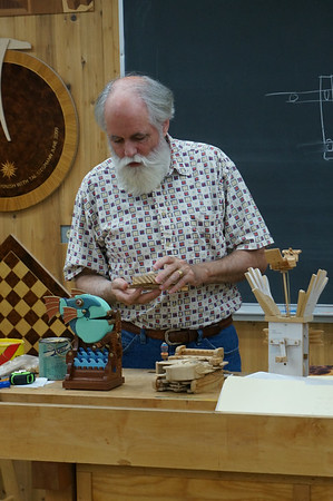 Kinetic Sculpture: Toying with Wood with Morgan