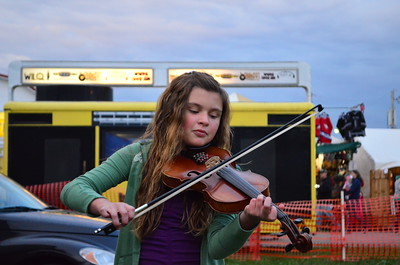 Jessie Morgan and The Bloomsburg Fair Fiddle Contest