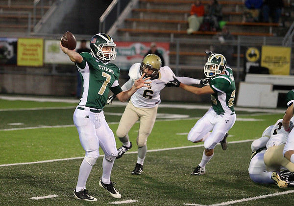 Football: TCW vs Ogemaw, Oct. 12, 2012