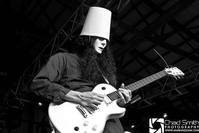 Buckethead @ Summercamp 2009