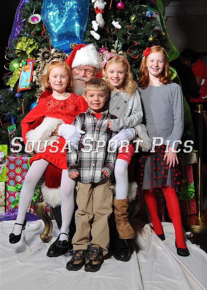 Healthy Families Breakfast With Santa 2013
