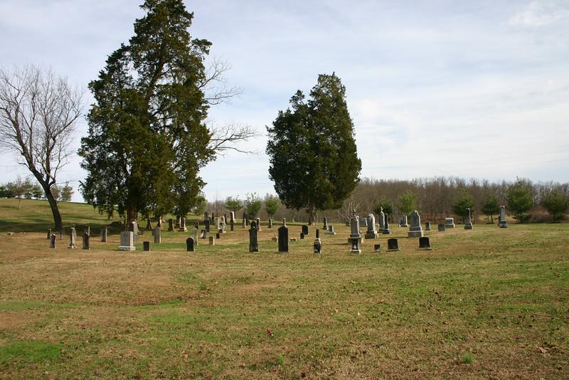 St. John's Cemetery, Wheelersburg, Ohio, 2011 (photo by the author)