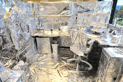 August 1, 2008 - Boss' Foiled Cube