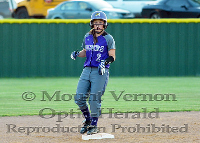 Lady Tigers vs Queen City Lady Bulldogs game one 4-24-2014