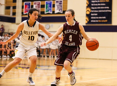 Mercer Island @ Bellevue Girls Varsity Basketball