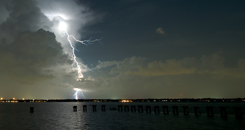 Lightning on St Johns River