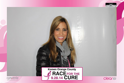 Cynvenio at the Komen OC Race for the Cure 2014