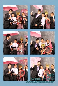 Sabrina + Ranvir Wedding Photobooth (08/17/2014)