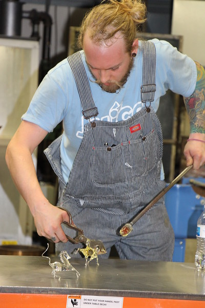shawn macombs battle of the glass blowers 5-2-15