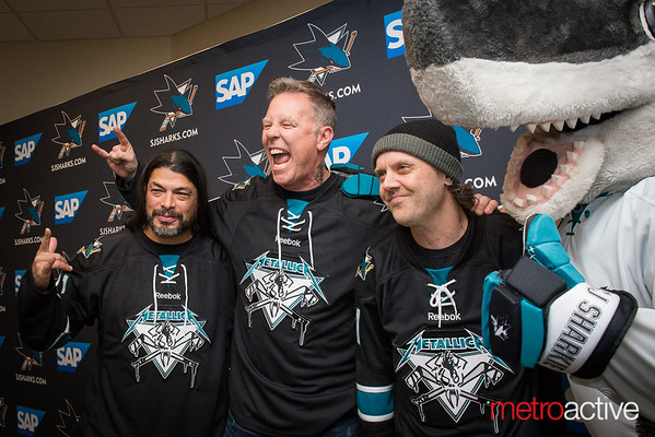 SJ Sharks Metallica Night