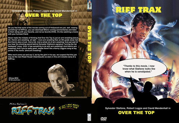 Rifftrax DVD Covers