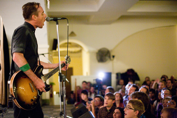 Ted Leo & The Pharmacists, Sacred Heart Church, Washington DC, 11/12/2011