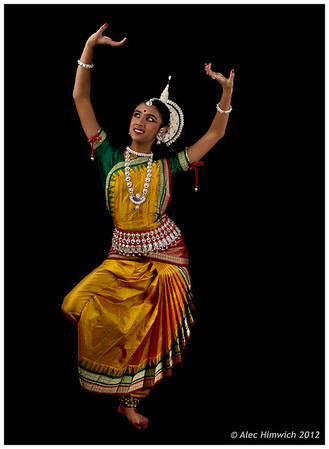 Odissi at Triangle Dance Studio