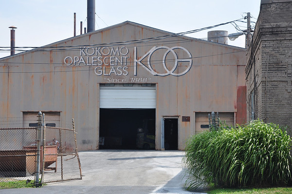 Opalescent Glass Factory in  Kokomo  Indiana