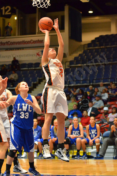 MSC Tourn. WBB vs Lindsey Wilson 3-1-12