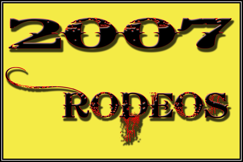 2007 RODEOS