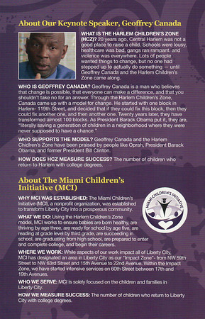 Miami Children's Initiative & Himan Brown Charitable Trust