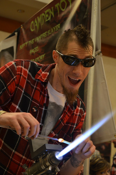 Crypticon 2014 The Hippie House Glassblowers