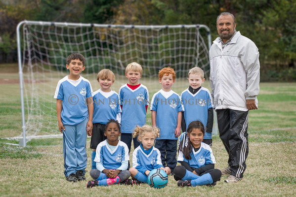 Blue Sharks Soccer Team