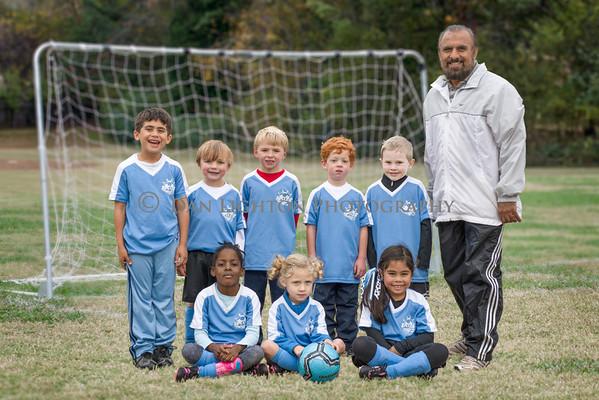 Blue Sharks Soccer Team