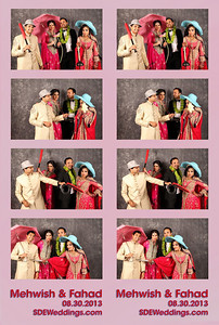 Mehwish + Fahad Wedding Photobooth (08/30/2014)