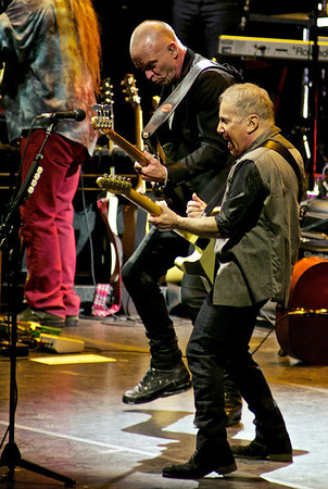 Paul Simon/ Sting 'On Stage Together' tour MSG