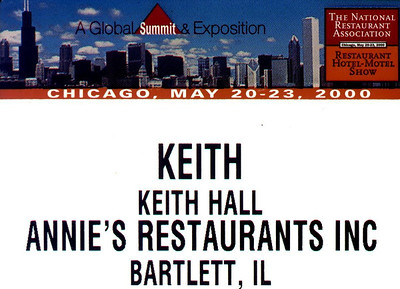 20000521 Restaurant Show- McCormick Place - Chicago
