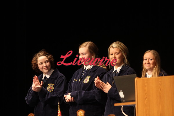 FFA Degree Night & Crop Show 2014