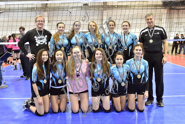 2015 Mid-Atlantic Power League Volleyball Tournament - York, Pa