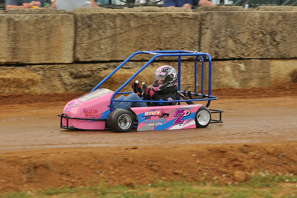 2014 FREDERICK CO FAIR BANDIT GOCART RACING 7-28-14