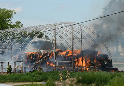 Mulligan Barn Fire  7-26-14