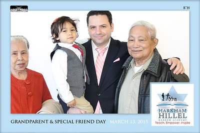 Harkham Hillel Hebrew Academy Grandparent Special Person Day 2015 Booth 1