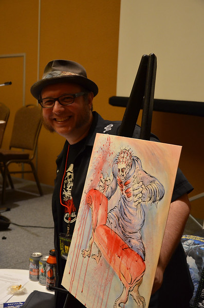 Crypticon Seattle 2013 Live Art