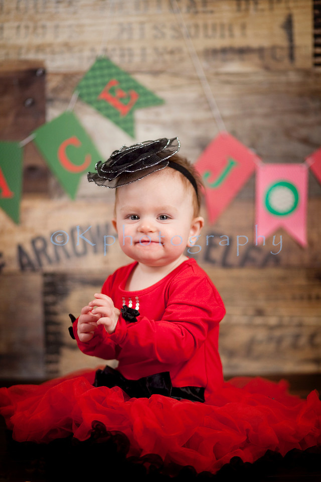 Aly 9 month session
