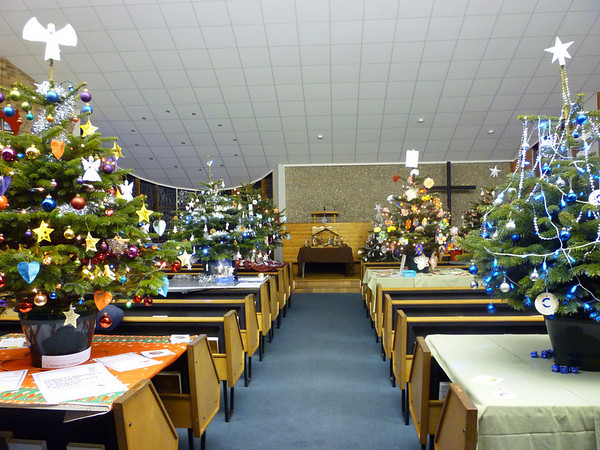 Christmas Tree Festival 2010.  General Views