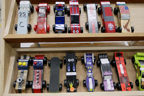 Pinewood Derby, April 14, 2012