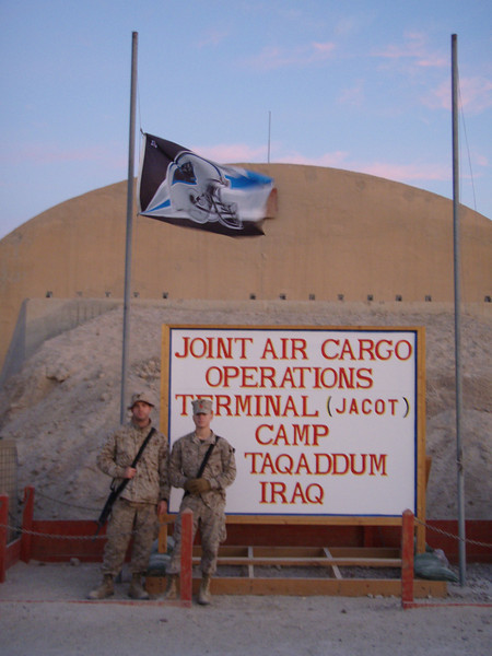 Panther Fans in Iraq