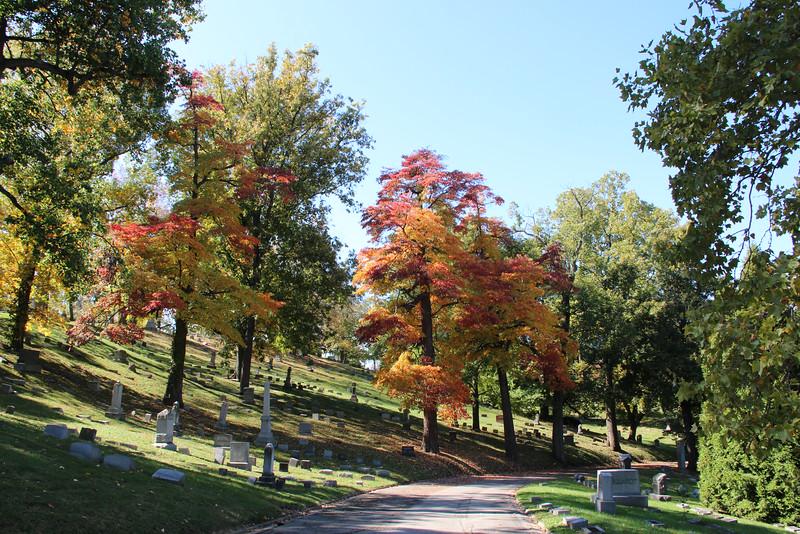Woodland Cemetery, Dayton, Ohio, 2013 (photo by the author)