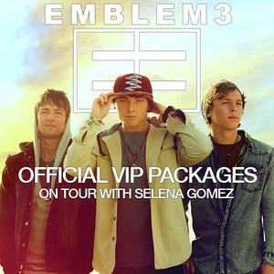 Emblem3 on tour with Selena Gomez