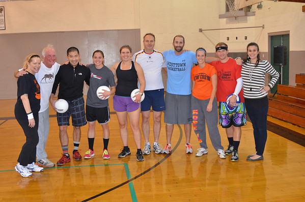 2013-10-31 G Volleball v Faculty Staff Parents