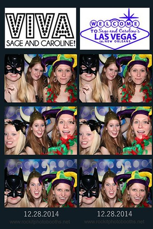 Sage and Caroline's debutante party 12.28.2014