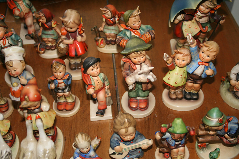 Collection of antique Hummels