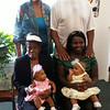 Five generations of Shirley Brown-Douglas' family:  Of course that's Shirley Brown-Douglas standing left, her son, standing behind his daughter, who is holding her daughter and the other baby is being held by Shirley's Mother.  The Circle of Life and Love!
