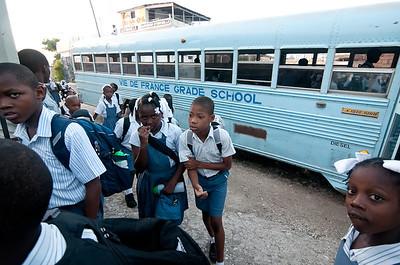 Vie De France Grade School, Jacmel, Haiti